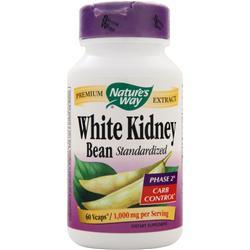 NATURE'S WAY White Kidney Bean (1,000mg) - Standardized 60 vcaps