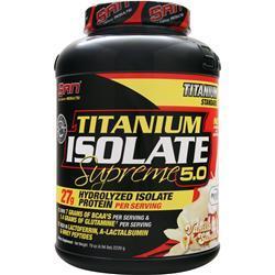 SAN Titanium Isolate Supreme 5.0 Vanilla Sundae 4.94 lbs