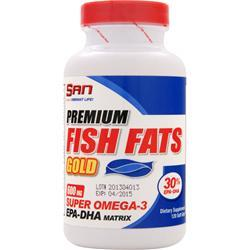 SAN Premium Fish Fats Gold 120 sgels