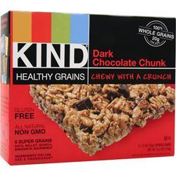 PEACEWORKS KIND Healthy Grains Bar Dark Chocolate Chunk 5 bars
