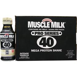 CYTOSPORT Muscle Milk Pro Series 40 RTD Intense Vanilla 12 bttls