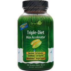 Irwin Naturals Triple-Diet - Max Accelerator 72 sgels