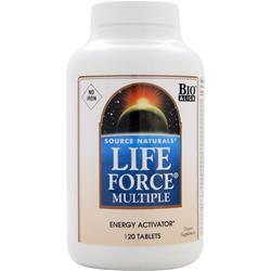 SOURCE NATURALS Life Force Multiple - Energy Activator 120 tabs