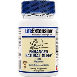 LIFE EXTENSION Enhanced Natural Sleep with Melatonin 30 caps