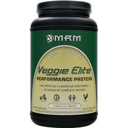 MRM Veggie Elite - Performance Protein Vanilla Bean 2.2 lbs