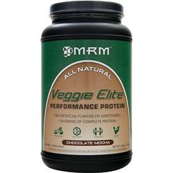 MRM Veggie Elite - Performance Protein Chocolate Mocha 2.4 lbs