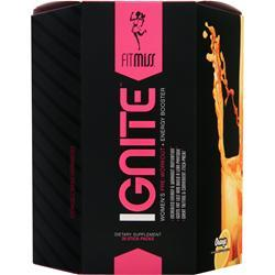 FITMISS Ignite - Women's Pre Workout + Energy Booster Orange 28 pckts