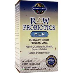 GARDEN OF LIFE Raw Probiotics - Men 90 vcaps