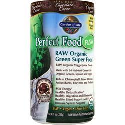 Garden Of Life Perfect Food Raw Powder Chocolate Cacao Original 285 grams