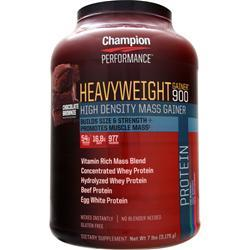 Champion Nutrition Heavyweight Gainer 900 Chocolate Brownie 7 lbs
