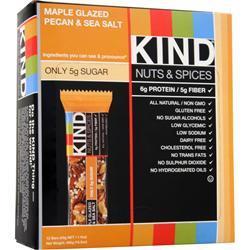 Kind Nuts and Spices Bar Maple Pecan & Sea Salt 12 bars
