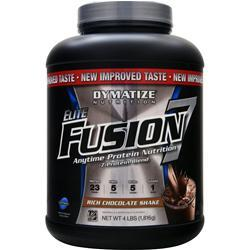 DYMATIZE NUTRITION Elite Fusion 7 Rich Chocolate Shake 4 lbs