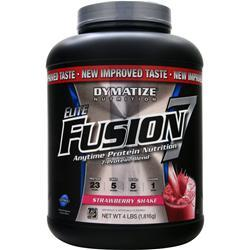 DYMATIZE NUTRITION Elite Fusion 7 Strawberry Shake 4 lbs