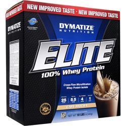 DYMATIZE NUTRITION Elite 100% Whey Protein Cafe Mocha 10 lbs