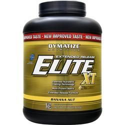 DYMATIZE NUTRITION Extended Release Elite XT Protein Banana Nut 4 lbs