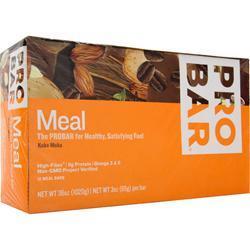 PRO BAR Whole Food Meal Bar Koka Moka 12 bars