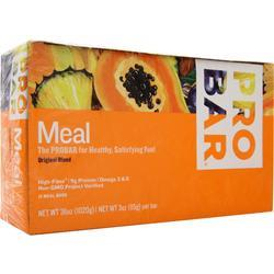 PRO BAR Whole Food Meal Bar Original Blend 12 bars