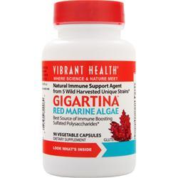 VIBRANT HEALTH Gigartina - Red Marine Algae 90 vcaps