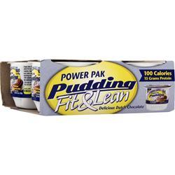 MHP Power Pak Pudding - Fit & Lean Delicious Dutch Chocolate 4 cup