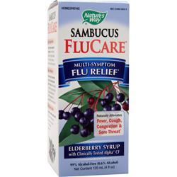 NATURE'S WAY Sambucus FluCare - Elderberry Syrup 4 fl.oz