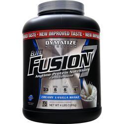 DYMATIZE NUTRITION Elite Fusion 7 Creamy Vanilla Shake 4 lbs