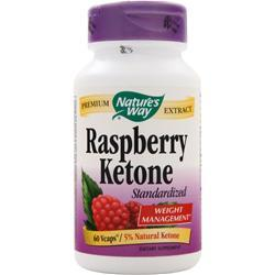 NATURE'S WAY Raspberry Ketone (500mg) 60 vcaps