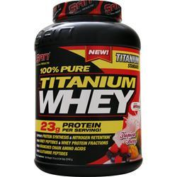 SAN 100% Pure Titanium Whey Tropical Berry 4.94 lbs