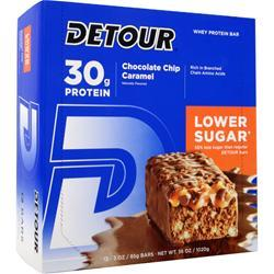 FORWARD FOODS Detour Bar - Low Sugar Chocolate Chip Caramel 12 bars