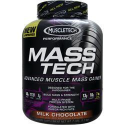 Muscletech Mass Tech - Buy 2 Get 1 Free Milk Chocolate 21 lbs