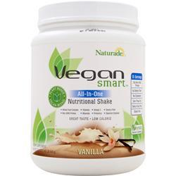 NATURADE Vegan Smart All-In-One Vanilla 645 grams