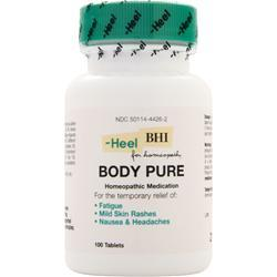 Heel BHI - Body Pure 100 tabs