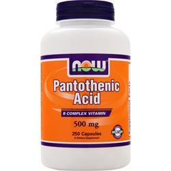 NOW Pantothenic Acid 250 caps
