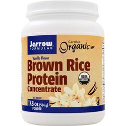 JARROW Brown Rice Protein Vanilla 1.1 lbs