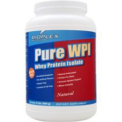 Bioplex Nutrition Pure WPI - Whey Protein Isolate Natural 2 lbs