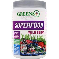 GREENS PLUS Organic Wild Berry 240 grams