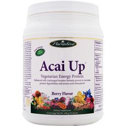 Paradise Herbs Acai Up - Vegetarian Energy Protein Berry 438 grams