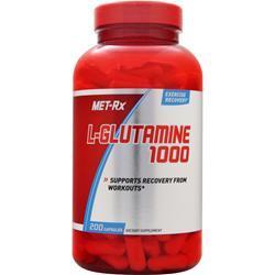 Met-Rx L-Glutamine 1000 200 caps