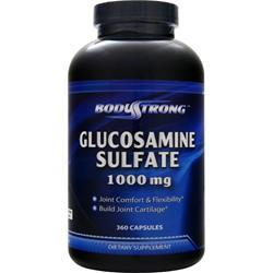 BodyStrong Glucosamine Sulfate (1000mg) 360 caps