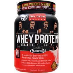 SIX STAR PRO NUTRITION Whey Protein Plus Elite Series Strawberry Smoothie 2 lbs