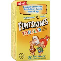 BAYER HEALTHCARE Flintstones Toddler 80 tabs