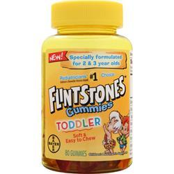BAYER HEALTHCARE Flintstones Gummies Toddler 80 gummy