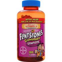 BAYER HEALTHCARE Flintstones Gummies Complete 180 gummy