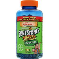 BAYER HEALTHCARE Flintstones Sour Gummies 180 gummy