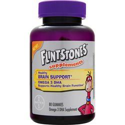 Bayer Healthcare Flintstones - Healthy Brain Support 80 gummy