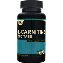 Optimum Nutrition L-Carnitine (500mg) 60 tabs