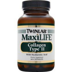 TWINLAB MaxiLIFE - Chicken Collagen Type II 60 caps