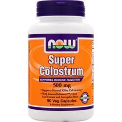 NOW Super Colostrum (500mg) 90 vcaps