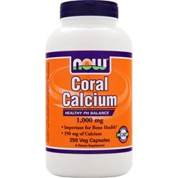 NOW Coral Calcium (1000mg) 250 vcaps