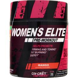 CON-CRET Women's Elite Pre-Workout Mango 1.4 oz