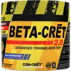 CON-CRET Beta-Cret 2.0 - Advanced Training Booster Blue Raspberry 6.88 oz